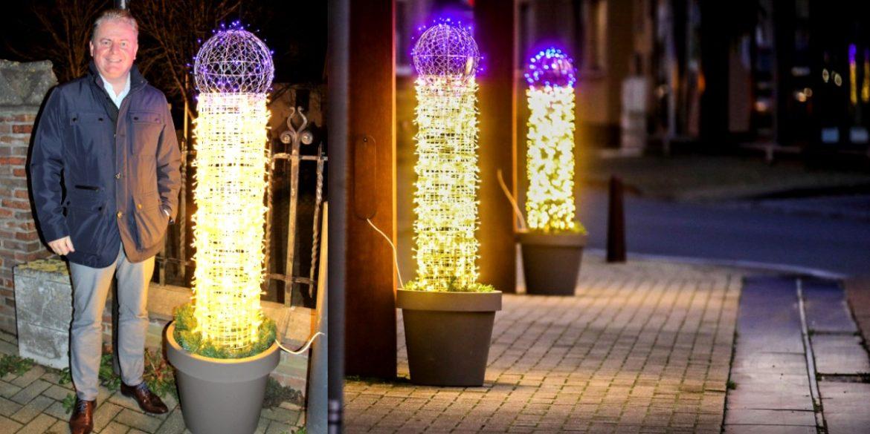 Oudenburg penis shaped lights