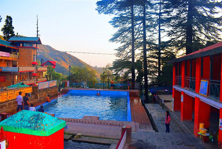Lush Green Village Near Dharamshala