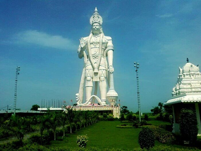 tallest hanuman statues in india