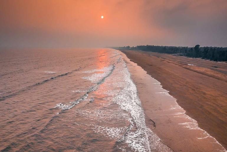 Secluded Beach Near Kolkata