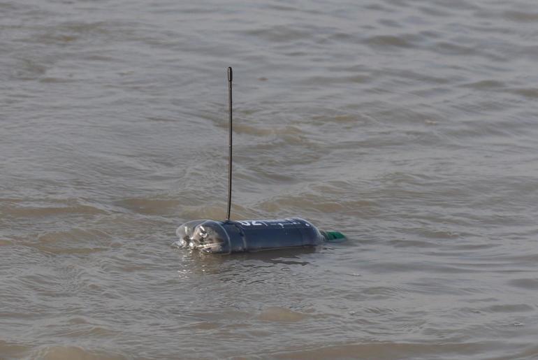 Geo-Tagged Plastic Bottles River Ganga