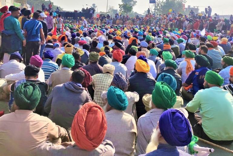 Singhu Border Farmers Protest