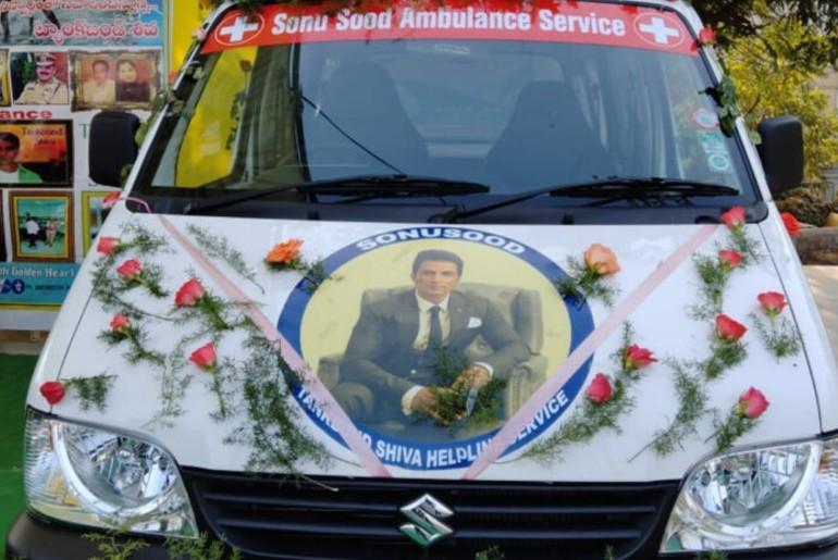 Sonu Sood Ambulance