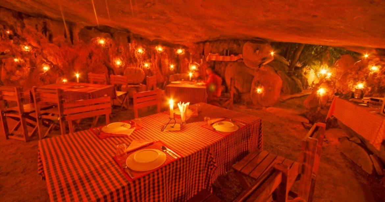 Surreal Dinner Cave Wayanad