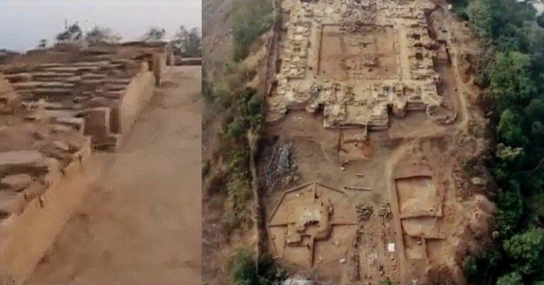 Hilltop Buddhist Monastery Bihar