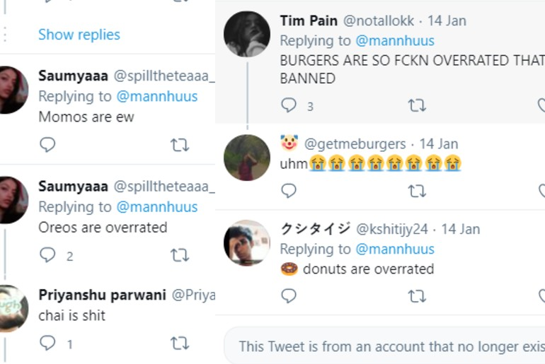 Controversial Food Opinions