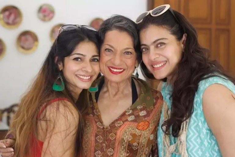 Kajol relationship with mother