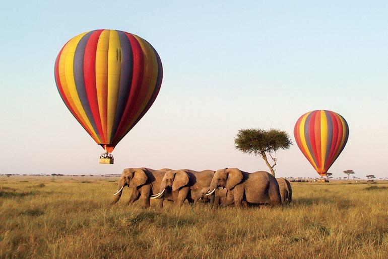 India's First Ever Hot Air Balloon Safari