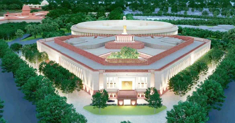 New Parliament Building Delhi