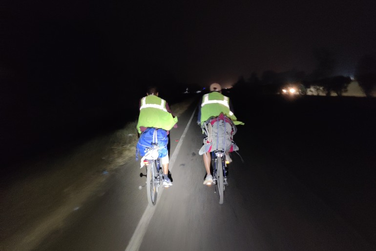 3 Friends Cycle From Mumbai To Kanyakumari