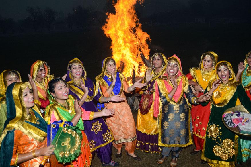 places to celebrate lohri in india