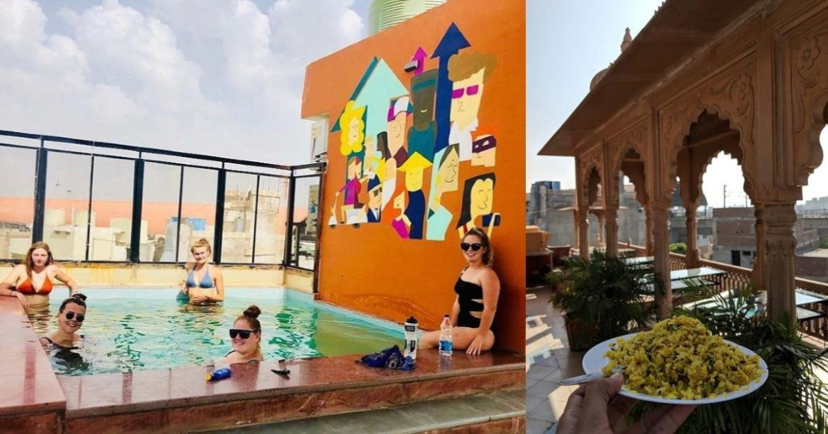Hostel In Rajasthan With Rooftop Jacuzzi