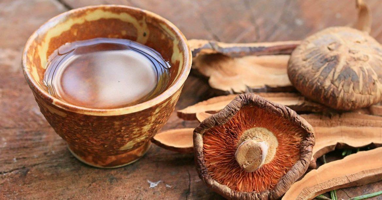 Assam Mushroom Tea