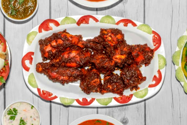 chicken ghee roast mangalore