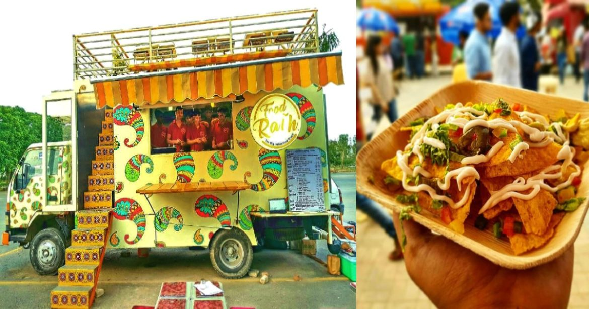 Food Truck Gurgaon Rooftop Seating