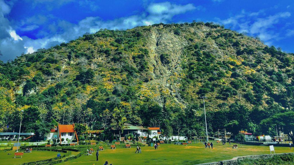 paragliding morni hills haryana
