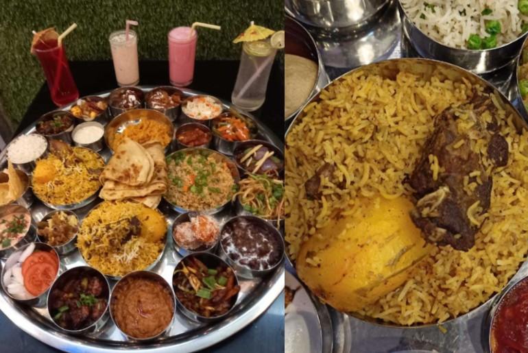 Kolkata Bahubali Thali