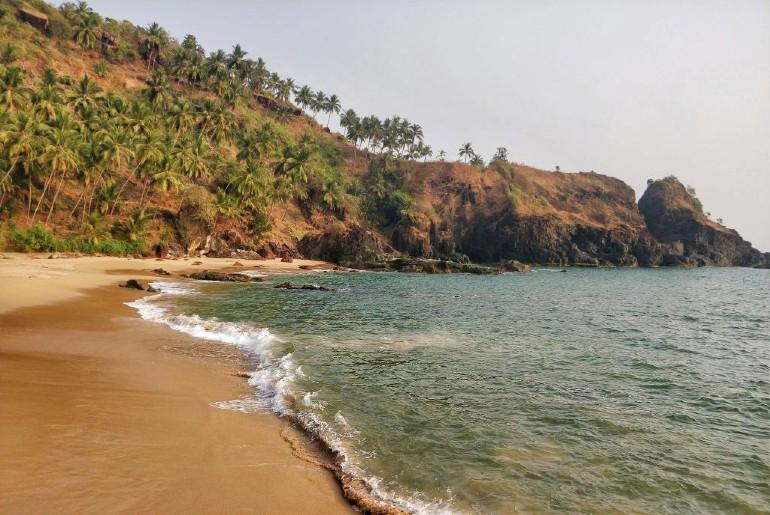 Beach South Goa Waterfall