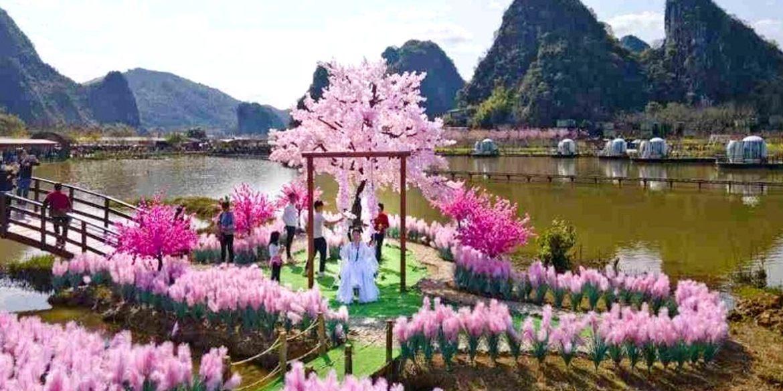romantic island in china