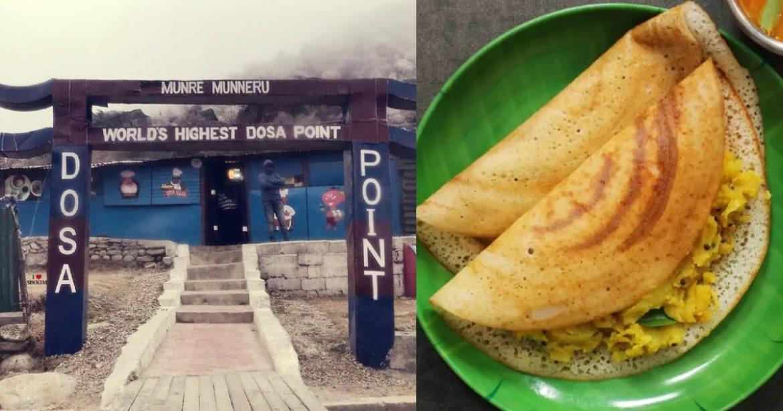 World's Highest Dosa Point Sikkim