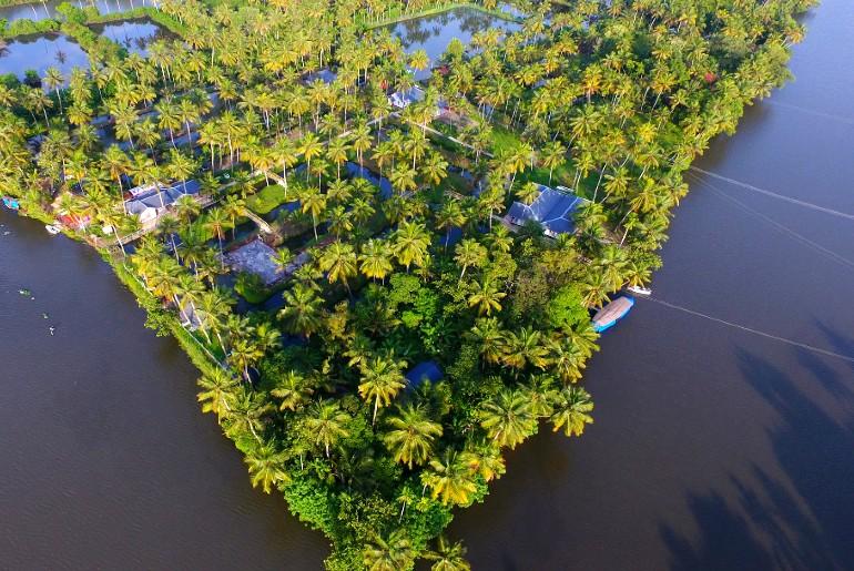 private islands in india