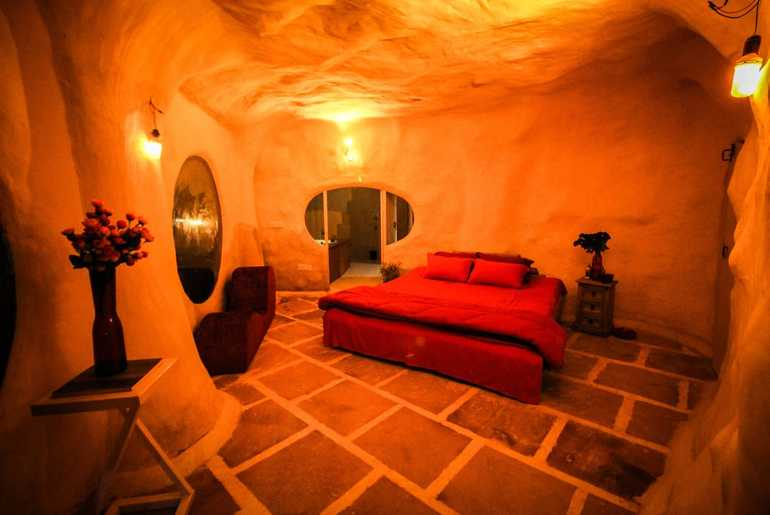 Cave-Themed Resorts India