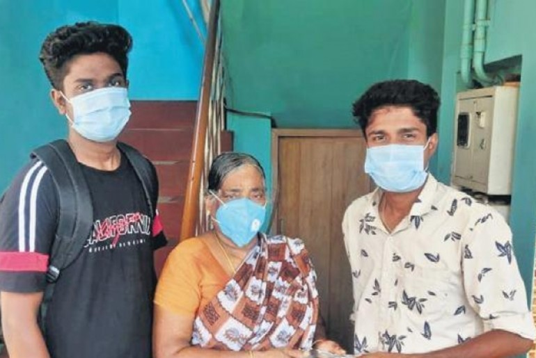 home cooked meals for covid patients in chennai