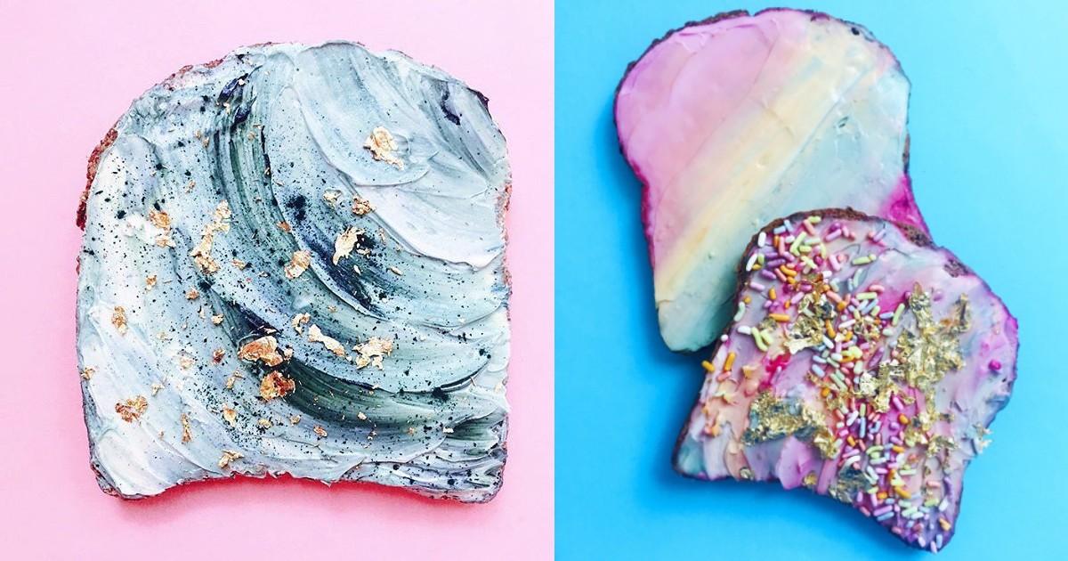 Unicorn & Mermaid Toasts How To Make
