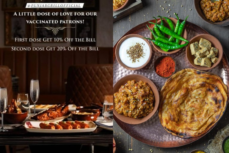 Eateries Gurgaon Discounts Vaccinated Customers