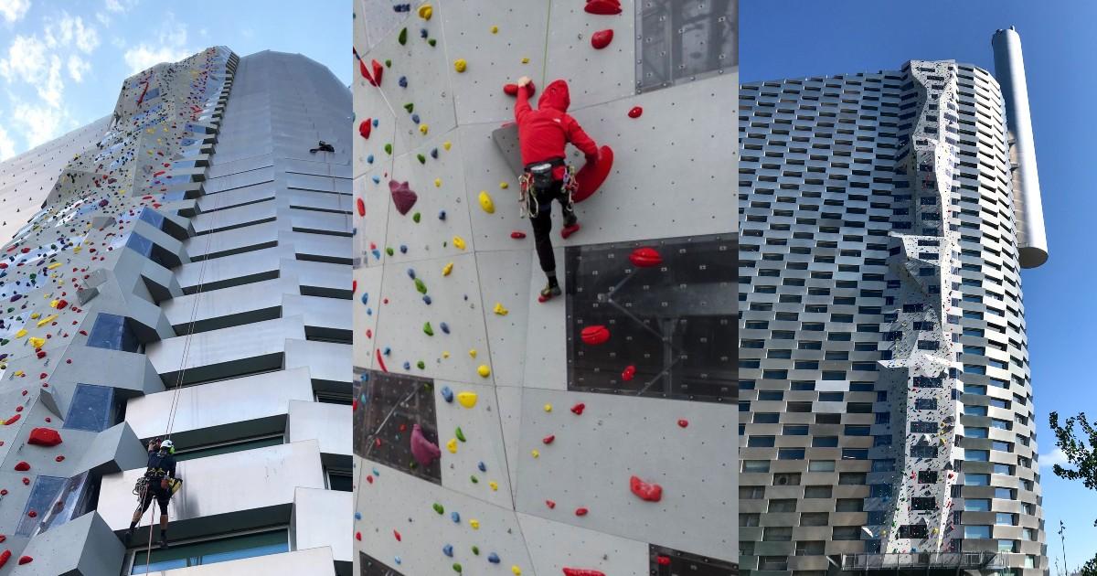 Tallest Climbing Wall Denmark