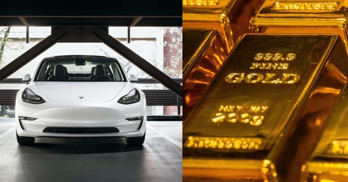 Hong Kong Tesla Car Gold Bar iPhonesHong Kong Tesla Car Gold Bar iPhones