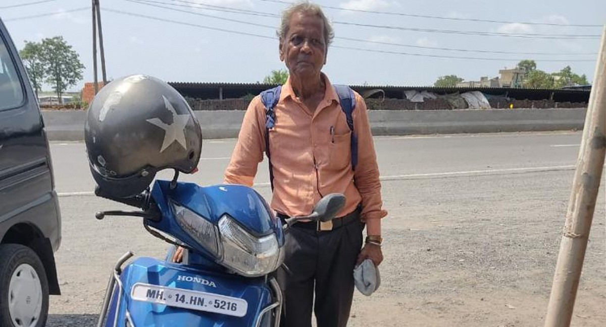 77-Year-Old two-wheeler road trip