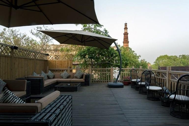 Delhi Restaurants Open Air Dining
