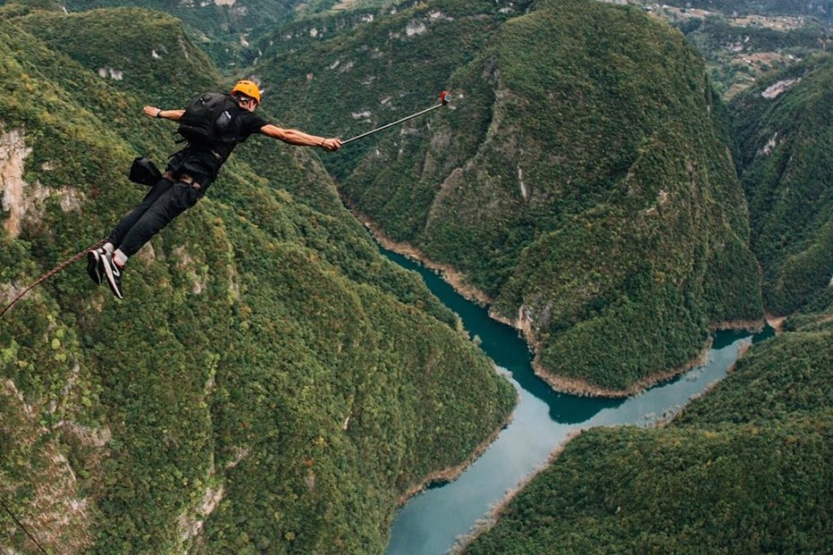 world's highest bungee jumping china