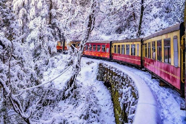 Toy Train Rides Mountains India