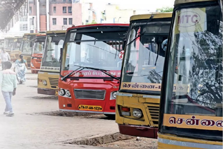 Chennai Hikes Fare Buses