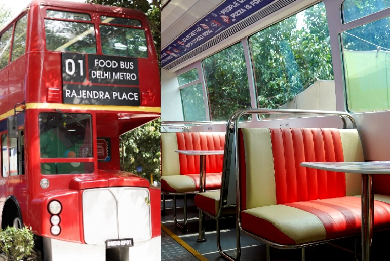 Double-Decker Dining Bus
