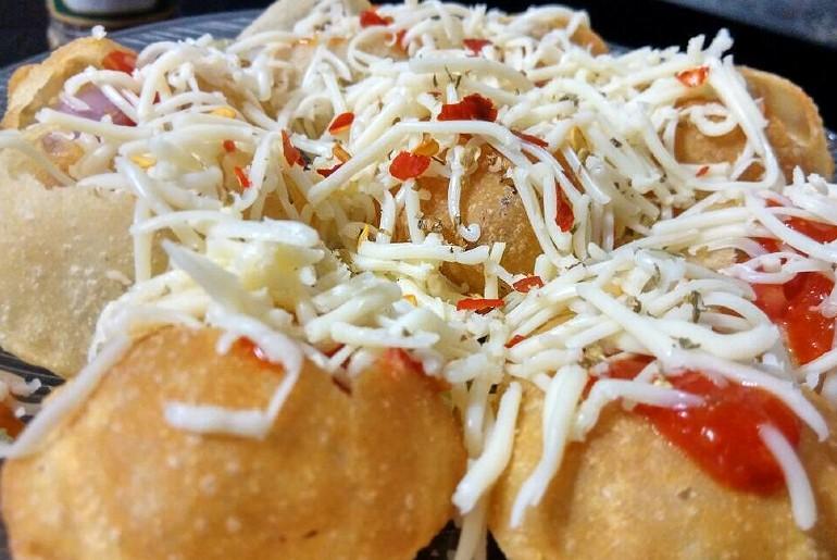 Butter Chicken Pani Puri