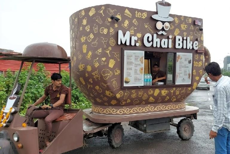 Tea Cup Shaped Bike Surat