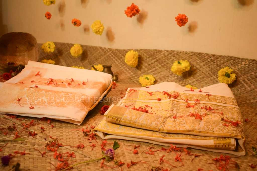 edible saree kerala