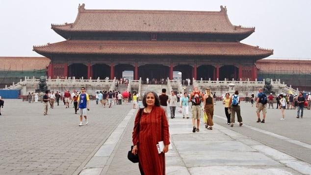 Sudha Mahalingam travel